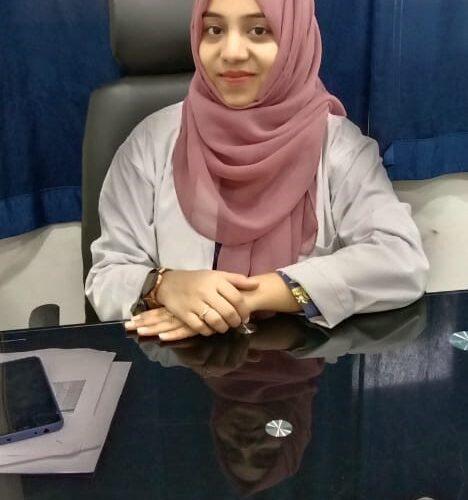 Miss. Syeda Mehraj Nousheen